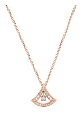BVLGARI Halskette DIVAS'DREAM aus 18 Karat Roségold und Diamanten
