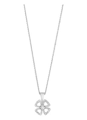 BVLGARI Halskette FIOREVER aus 18Karat Weißgold