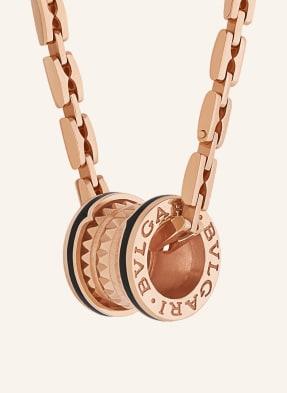 BVLGARI Halskette B.ZERO1 ROCK aus 18 Karat Roségold und Keramik