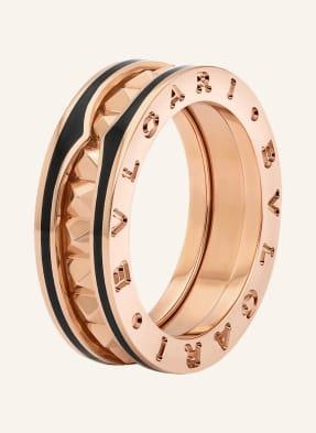 BVLGARI Ring B.ZERO1 ROCK aus 18Karat Roségold und Keramik