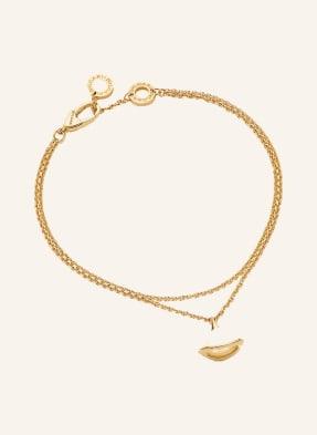 BVLGARI Armband DIVAS'DREAM aus 18 Karat Gelbgold mit Perlmutt-Element