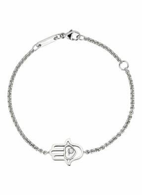 Chopard Armband HAPPY DIAMONDS GOOD LUCK CHARMS Armband aus 18 Karat Weißgold und Diamanten