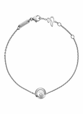 Chopard Armband HAPPY DIAMONDS ICONS Armband aus 18 Karat Weißgold und Diamanten
