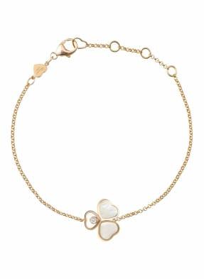 Chopard Armband HAPPY HEARTS WINGS Armband aus 18 Karat Roségold, Diamanten und Perlmutt