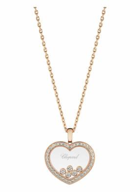 Chopard Anhänger HAPPY DIAMONDS ICONS Anhänger aus 18 Karat Roségold und Diamanten