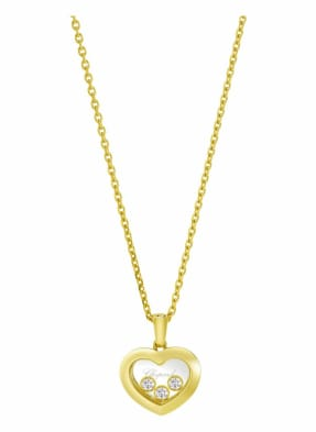 Chopard Anhänger HAPPY DIAMONDS ICONS Anhänger aus 18 Karat Gelbgold und Diamanten