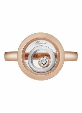 Chopard Ring HAPPY SPIRIT Ring aus 18 Karat Roségold, aus 18 Karat Weißgold und Diamanten