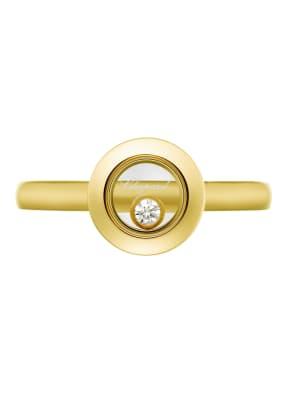 Chopard Ring HAPPY DIAMONDS ICONS Ring aus 18 Karat Gelbgold und Diamanten