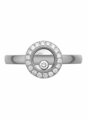 Chopard Ring HAPPY DIAMONDS ICONS Ring aus 18 Karat Weißgold und Diamanten