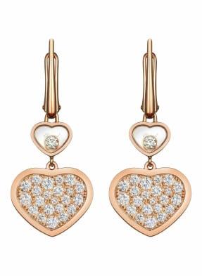 Chopard Ohrring HAPPY HEARTS Ohrringe aus 18 Karat Roségold und Diamanten