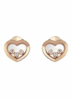 Chopard Ohrring HAPPY DIAMONDS ICONS Ohrringe aus 18 Karat Roségold und Diamanten