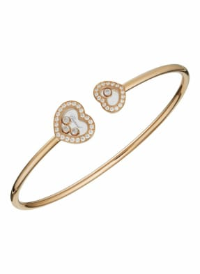 Chopard Armreif HAPPY DIAMONDS ICONS Armreif aus 18 Karat Roségold und Diamanten