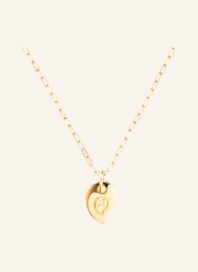TAMARA COMOLLI Halskette SPARKLE aus 18 Karat Gelbgold