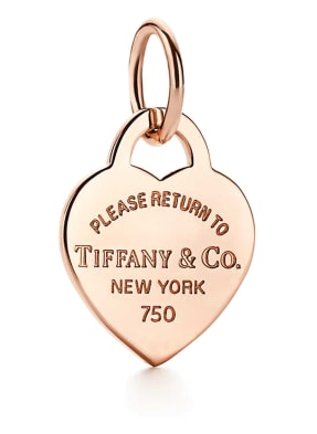TIFFANY & Co. Anhänger RETURN TO TIFFANY™ aus 18 Karat Roségold