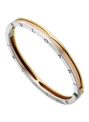 BVLGARI Armband B.ZERO1 aus 18 Karat Weißgold, 18 Karat Roségold und 18 Karat Gelbgold