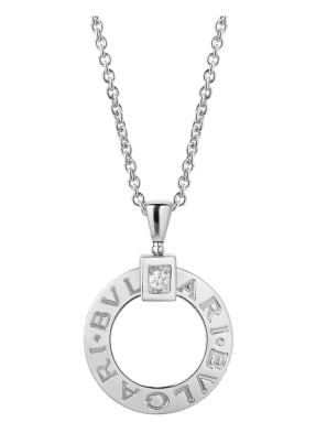 BVLGARI Halskette BVLGARI BVLGARI aus 18 Karat Weißgold und Diamanten