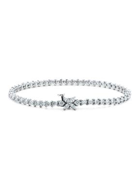 TIFFANY & Co. Einreihiges Armband TIFFANY VICTORIA® aus Platin mit Diamanten