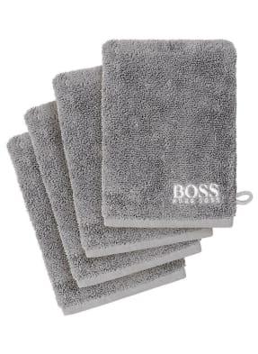BOSS Waschhandschuh im 4er Set