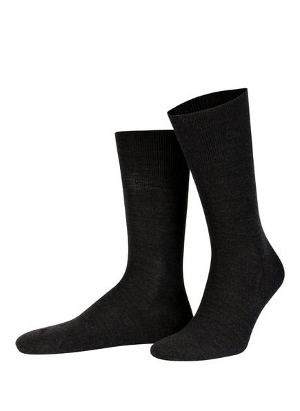 FALKE Socken AIRPORT, Farbe: 3080 ANTHRA.MEL (Bild 1)