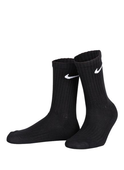 Nike 3er-Pack Sportsocken, Farbe: SCHWARZ (Bild 1)