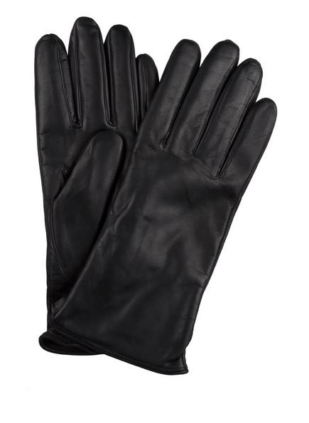 ROECKL Lederhandschuhe KLASSIKER BASIC, Farbe: SCHWARZ (Bild 1)