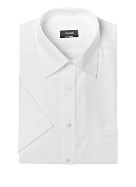 ETERNA Kurzarm-Hemd Comfort Fit, Farbe: WEISS (Bild 1)