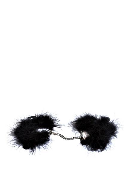 MAISON CLOSE Feder-Handschellen<br>       Mit Geschenkbox