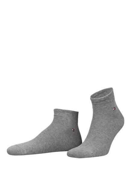 TOMMY HILFIGER 2er-Pack Sneakersocken, Farbe: ANTHRAZIT (Bild 1)