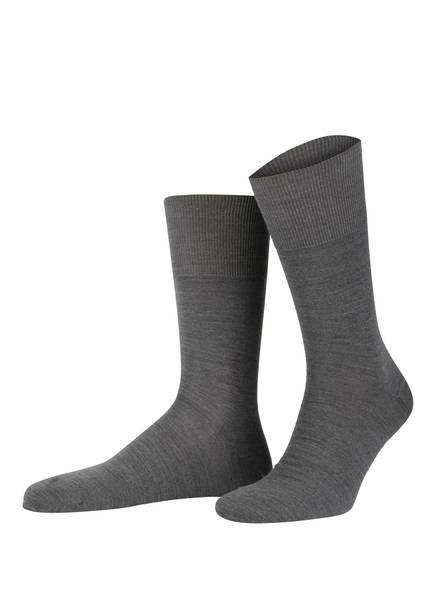 FALKE Socken AIRPORT, Farbe: 3070 DARK GREY (Bild 1)