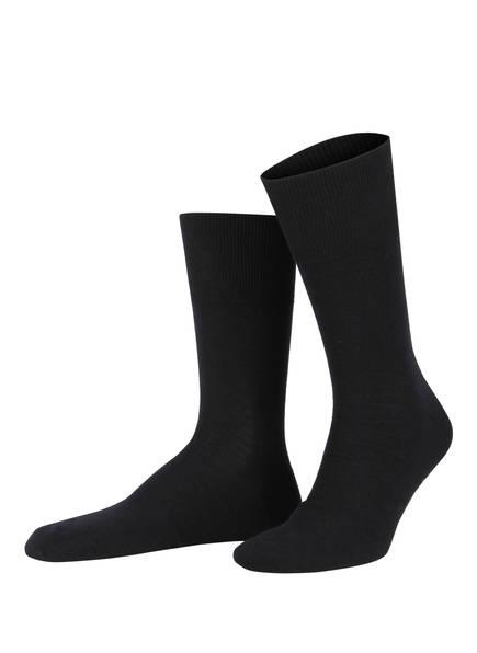 FALKE Socken AIRPORT, Farbe: 6370 DARK NAVY (Bild 1)