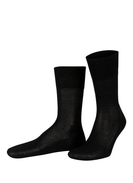 FALKE Socken TIAGO, Farbe: 3000 BLACK (Bild 1)