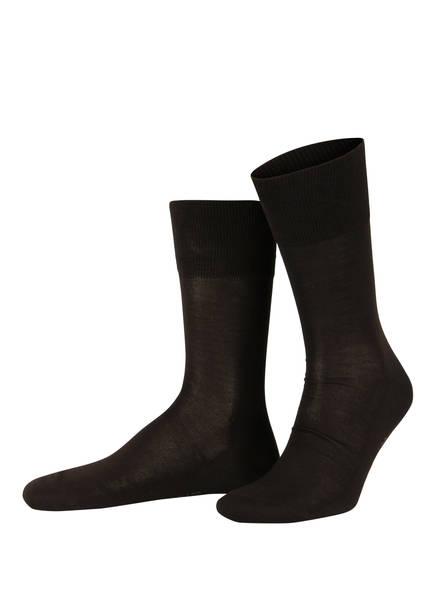 FALKE Socken TIAGO, Farbe: 5930 BROWN (Bild 1)