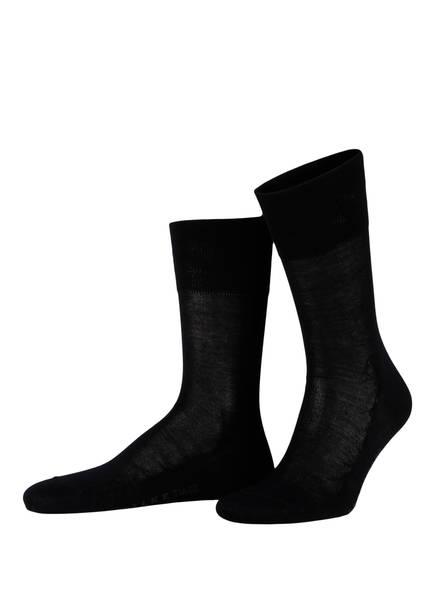 FALKE Socken TIAGO, Farbe: 6370 DARK NAVY (Bild 1)
