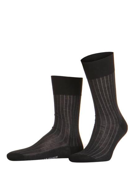 FALKE Socken SHADOW, Farbe: 3030 GREY-BLACK (Bild 1)