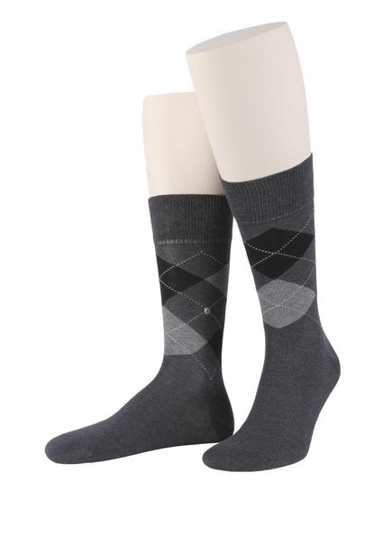 Burlington Socken MANCHESTER, Farbe: 3095 ANTHRACITE MEL. (Bild 1)