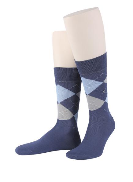 Burlington Socken MANCHESTER, Farbe: 6220 BLUEBERRY (Bild 1)