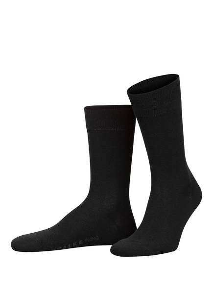 FALKE 2er-Pack Socken SWING, Farbe: 3000 BLACK (Bild 1)
