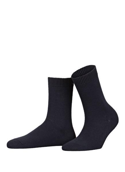 FALKE Socken COSY WOOL, Farbe: 6379 DARK BLUE (Bild 1)
