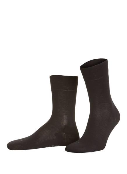 FALKE Socken BERLIN SENSITIVE, Farbe: 3009 BLACK (Bild 1)