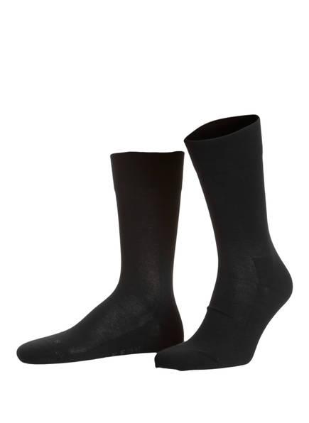 FALKE Socken LONDON SENSITIVE , Farbe: 3000 BLACK (Bild 1)