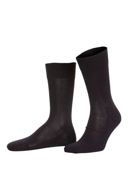 FALKE Socken LONDON SENSITIVE , Farbe: 6370 DARK (Bild 1)
