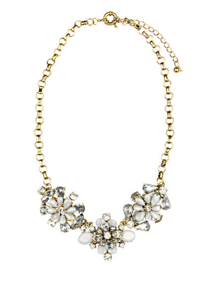RUBIES AND ROCKS Statement-Kette DIZZY FLOWERS