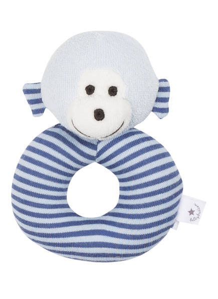 bellybutton Baby-Rassel, Farbe: BLAU/ WEISS (Bild 1)