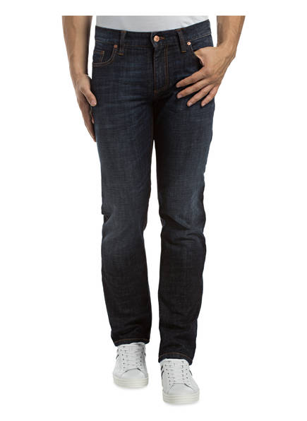 Regular Pipe Blue Jeans Dark Fit Slim 891 Alberto TfxwT