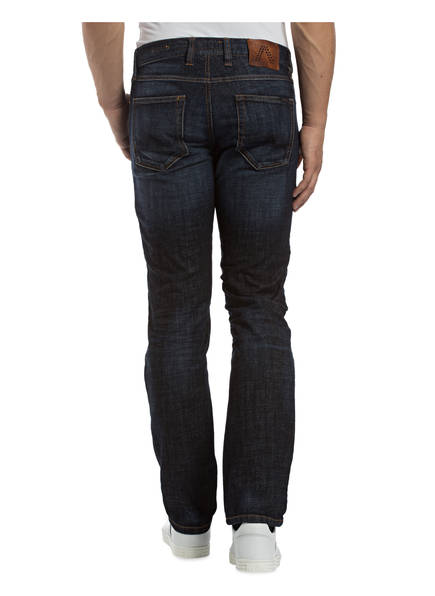 Pipe Fit 891 Blue Slim Jeans Alberto Dark Regular wIAwq5