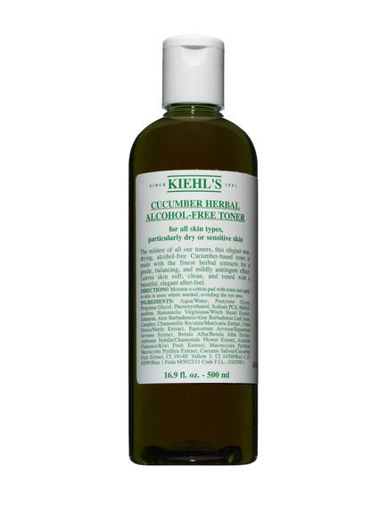 Kiehl's CUCUMBER HERBAL ALCOHOL-FREE TONER (Bild 1)