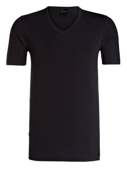 SCHIESSER V-Shirt 95/5, Farbe: SCHWARZ (Bild 1)