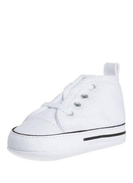CONVERSE Sneaker BABY CHUCK TAYLOR FIRST STAR, Farbe: WEISS (Bild 1)