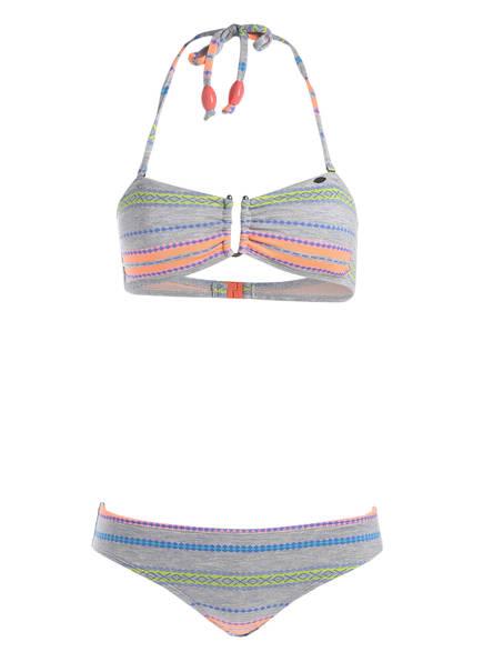 Blau Sparkling Weiss O'neill Orange bikini Bandeau wOqXA1