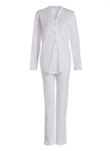 Schlafanzug Weiss Hanro Schlafanzug Deluxe Cotton Hanro aBZYBw